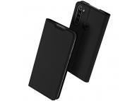 Husa Piele DUX DUCIS Skin Pro pentru Xiaomi Redmi Note 8T, Neagra, Blister