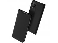 Husa Piele DUX DUCIS Skin Pro pentru Huawei P40 lite, Neagra, Blister