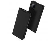 Husa Piele DUX DUCIS Skin Pro pentru Samsung Galaxy A51 5G A516, Neagra, Blister