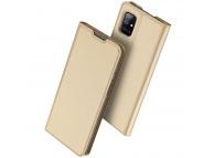 Husa Piele DUX DUCIS Skin Pro pentru Samsung Galaxy A51 5G A516, Aurie, Blister