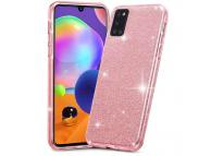 Husa TPU Tech-Protect GLITTER SHINE pentru Samsung Galaxy A31, Roz, Blister