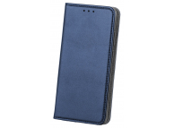 Husa Piele OEM Smart Magnetic pentru Samsung Galaxy A21s, Bleumarin, Bulk