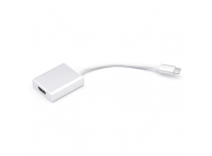 Cablu Audio si Video HDMI la USB Type-C OEM, Alb, Blister