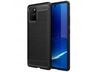 Husa TPU OEM Carbon pentru Samsung Galaxy S10 Lite, Neagra, Bulk