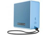 Boxa portabila Bluetooth ENERGY SISTEM Music Box 1+, 5W, microSD MP3, FM Radio, Audio-In, Albastra Blister ENS445950