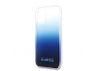 Husa TPU Guess California pentru Apple iPhone 11 Pro Max, Albastra, Blister UHCN65DGCNA