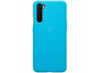 Husa TPU OnePlus Nord, Sandstone Bumper (Nord Blue), Albastra, Blister 5431100170