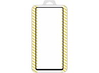Folie Protectie Ecran OEM pentru Samsung Galaxy S10 Lite G770, Sticla securizata, Full Face, Full Glue, 5D, Neagra, Blister