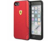 Husa TPU Ferrari On Track pentru Apple iPhone 7 / Apple iPhone 8 / Apple iPhone SE (2020), Rosie, Blister FESITHCI8RE