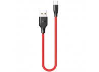Cablu Date si Incarcare USB la USB Type-C McDodo Warrior CA-5172, 2.4A, 1 m, Rosu, Blister