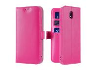 Husa Piele DUX DUCIS Kado Wallet pentru Xiaomi Redmi 8A, Roz, Blister