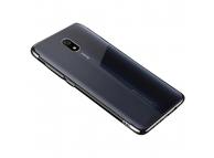 Husa TPU OEM Electroplating pentru Xiaomi Redmi 8A, Neagra, Bulk
