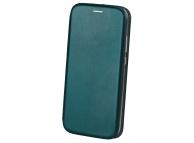 Husa Piele OEM Elegance pentru Samsung Galaxy A21s, Verde, Bulk