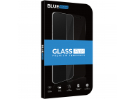 Folie Protectie Ecran BLUE Shield pentru Apple iPhone XS Max / Apple iPhone 11 Pro Max, Sticla securizata, Full Face, Full Glue, 0.33mm, 9H, 2.5D, Neagra, Blister