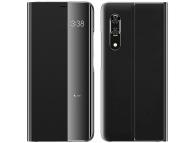 Husa Piele - Poliuretan OEM New Sleep Case pentru Samsung Galaxy A51 A515 / Samsung Galaxy A31, Neagra, Bulk
