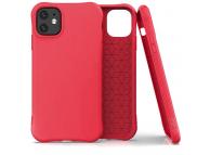 Husa TPU OEM Soft Color pentru Apple iPhone 11, Rosie, Bulk