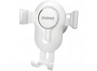Suport Auto Universal Dudao pentru Telefon Gravity Air Vent, F3, Alb, Blister