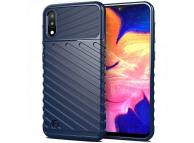 Husa TPU OEM Thunder Tough pentru Samsung Galaxy A10 A105, Bleumarin