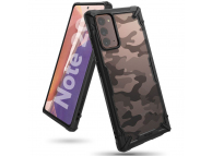 Husa Plastic - TPU Ringke Fusion X Design Camo pentru Samsung Galaxy Note 20 N980 / Samsung Galaxy Note 20 5G N981, Neagra, Blister XDSG0035