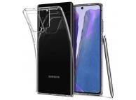 Husa TPU Spigen Liquid Crystal pentru Samsung Galaxy Note 20 N980 / Samsung Galaxy Note 20 5G N981, Transparenta, Blister ACS01415