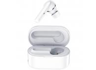 Handsfree Casca Bluetooth TWS Rock EB72, SinglePoint, Alb