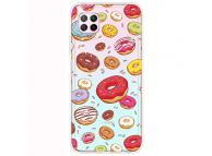 Husa TPU OEM Antisoc pentru Huawei P40 lite, Donuts, Multicolor, Bulk