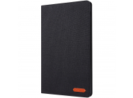 Husa Tableta Textil OEM Stand pentru Apple iPad Mini / Apple iPad mini  2 / Apple iPad mini 3 / Apple iPad mini 4, Neagra, Bulk