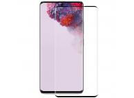 Folie Protectie Ecran Enkay pentru Samsung Galaxy S20 G980 / Samsung Galaxy S20 5G G981, Sticla securizata, Full Face, Edge Glue
