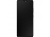 Display - Touchscreen Samsung Galaxy S10 Lite G770, Cu Rama, Argintiu GH82-21672B