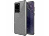 Husa TPU UNIQ LifePro Tinsel Samsung Galaxy S20 Ultra G988 / Samsung Galaxy S20 Ultra 5G G988, Glitter, Transparenta, Blister