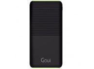 Baterie Externa Powerbank Goui Prime 20, 20000 mA, Power Delivery + Quick Charge 3, 2 x USB - 1 x USB Type-C, Neagra