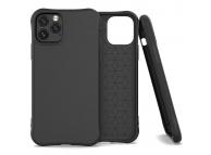 Husa TPU OEM Soft Color pentru Apple iPhone 11 Pro Max, Neagra, Bulk