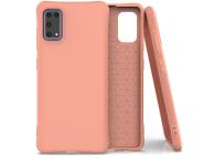 Husa TPU OEM Soft Color pentru Samsung Galaxy A41, Portocalie, Bulk