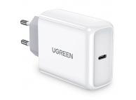 Incarcator Retea USB UGREEN 45 W PD, 1 X USB Tip-C, Alb, Blister