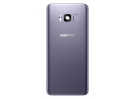Capac Baterie - Geam Camera Spate - Senzor Amprenta Samsung Galaxy S8+ G955, Mov, Second Hand