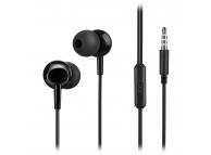 Handsfree Casti In-Ear HOCO M14, Cu microfon, 3.5 mm, Negru, Blister