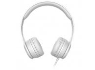 Casti On-Ear Baseus W21 Graceful, Cu microfon, 3.5 mm, Gri, Blister