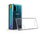 Husa TPU WZK Military Antisoc pentru Samsung Galaxy A41, Transparenta, Blister