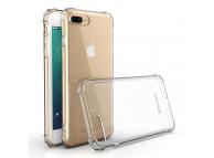 Husa TPU WZK Military Antisoc pentru Apple iPhone 7 Plus / Apple iPhone 8 Plus, Transparenta, Blister