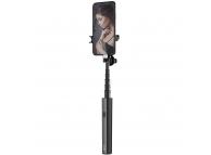 Selfie Stick cu Declansator Camera Meyan Bluetooth Usams ZB6901, Negru Blister Original