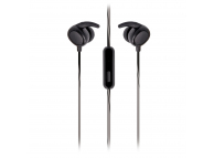Handsfree Casti In-Ear Setty, Sport, Cu microfon, 3.5 mm, Negru