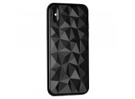 Husa TPU OEM Prism pentru Samsung Galaxy A20 A205 / Samsung Galaxy A30 A305, Neagra, Bulk