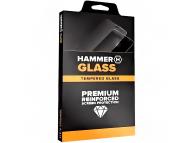 Folie Protectie Ecran Hammer Huawei P30 Pro, Sticla securizata, Edge Glue, 3D, Hot-Bending, Neagra, Blister