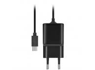 Incarcator Retea cu fir MicroUSB MaXlife MXTC-03, Fast Charge 2.1A, 1 X USB, Negru, Blister