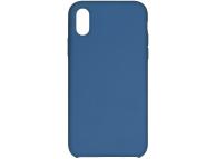 Husa TPU Forcell Silicone pentru Samsung Galaxy A41, Bleumarin, Bulk