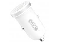 Incarcator Auto USB XO Design CC-18, 2 X USB, Alb, Blister