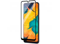 Folie Protectie Ecran OEM pentru Samsung Galaxy A21s, Sticla securizata, Full Face, Full Glue, 9D, Neagra