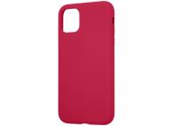 Husa TPU Tactical Velvet Smoothie pentru Apple iPhone 11 Pro, Sangria, Rosie