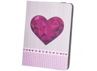 Husa Poliuretan GreenGo Heart pentru Tableta 9 - 10 inci, Multicolor