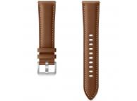 Curea piele Ceas bluetooth Samsung Galaxy Watch 3, Latime 22mm, Marime M/L, Maro Blister Originala ET-SLR84LAEGEU